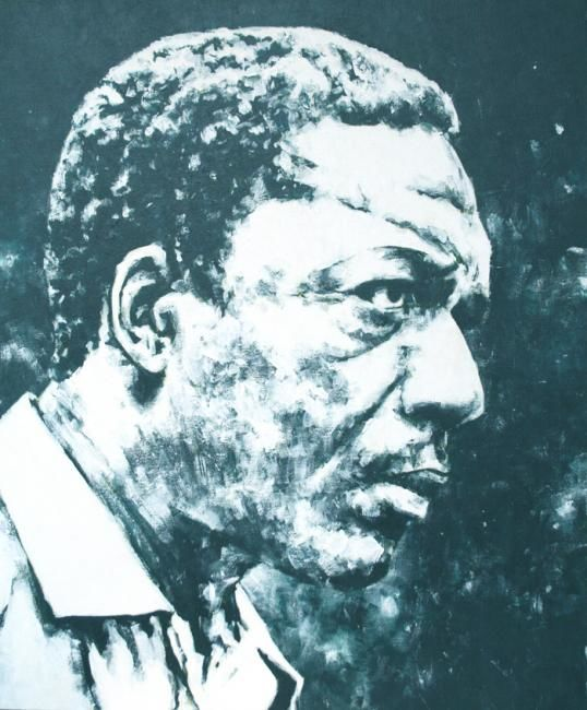John Coltrane - Painting, ©2009 by Sojo -