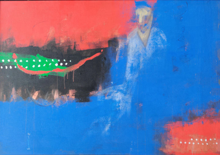 """Painting titled """"Untitled3"""" by Somnath Singh, Original Art, Acrylic"""
