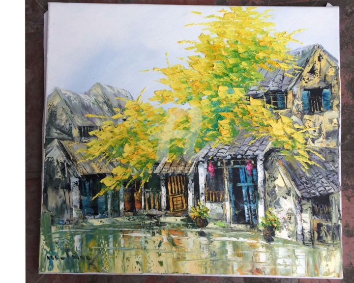 """Painting titled """"Orig oil painting N…"""" by Son Nguyen Minh, Original Art, Oil"""