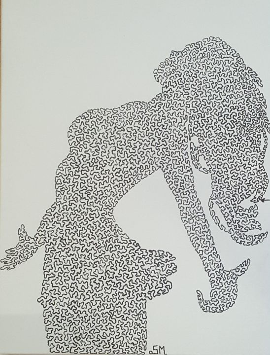 Femme Painting By Sonia Michel Artmajeur