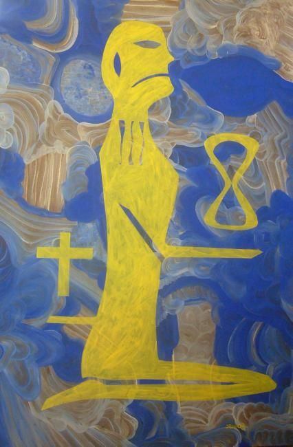 """Painting titled """"eternity"""" by Sonofmatisse, Original Art,"""