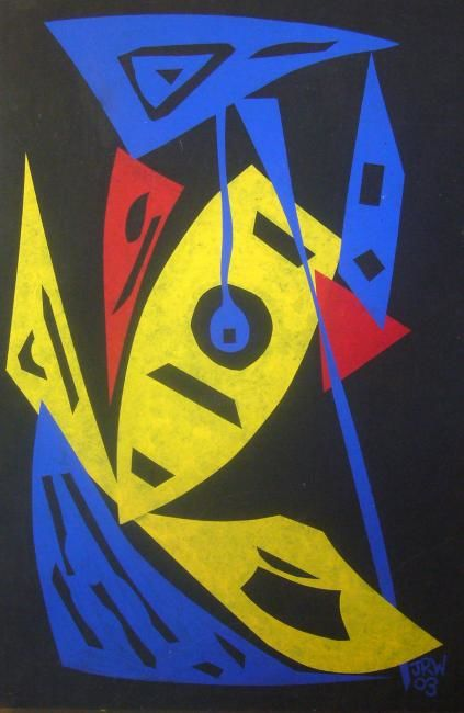 """Painting titled """"storm"""" by Sonofmatisse, Original Art,"""