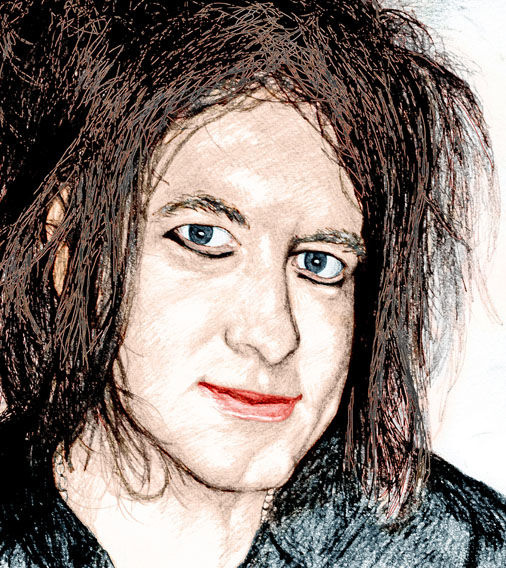 """Printmaking titled """"Robert Smith 2015"""" by Sootycure, Original Art,"""