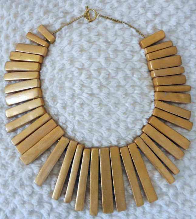 """Design titled """"Collier soleil rayo…"""" by Sophie Griffon, Original Art, Jewelry"""