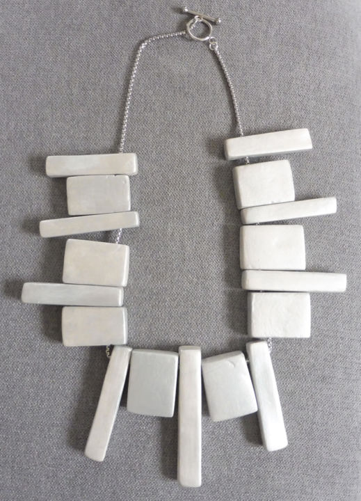 """Design titled """"Collier construction"""" by Sophie Griffon, Original Art, Jewelry"""