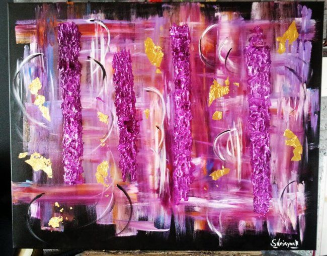 Tumultueuse passion - Painting ©2012 by Sophie Neirynck -