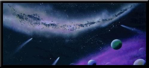"""Painting titled """"Heaven's View"""" by Nathan Harman, Original Art,"""