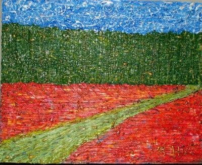 """Painting titled """"no.1"""" by Sp Hart, Original Art,"""