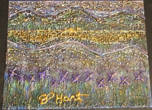 """Painting titled """"no.2"""" by Sp Hart, Original Art,"""