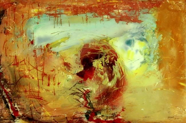 """Painting titled """"no.3"""" by Sp Hart, Original Art,"""