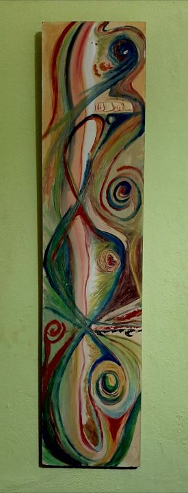 """Painting titled """"Creations"""" by Spiros Gremo, Original Art, Acrylic"""