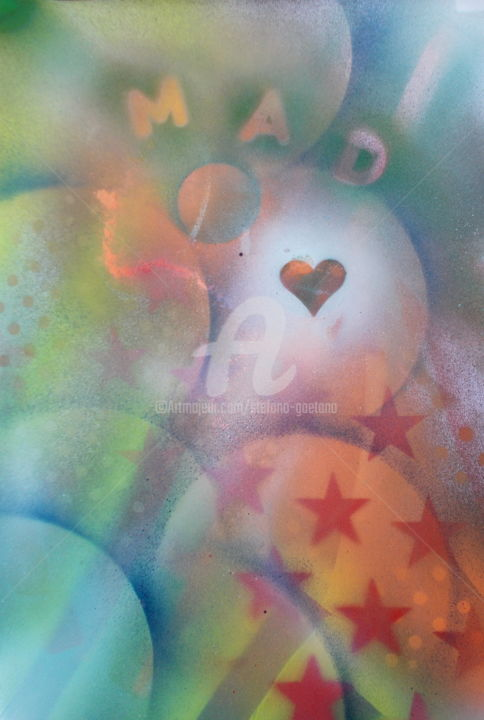 """Painting titled """"Follie d'amore"""" by Stefano Gaetano, Original Art,"""