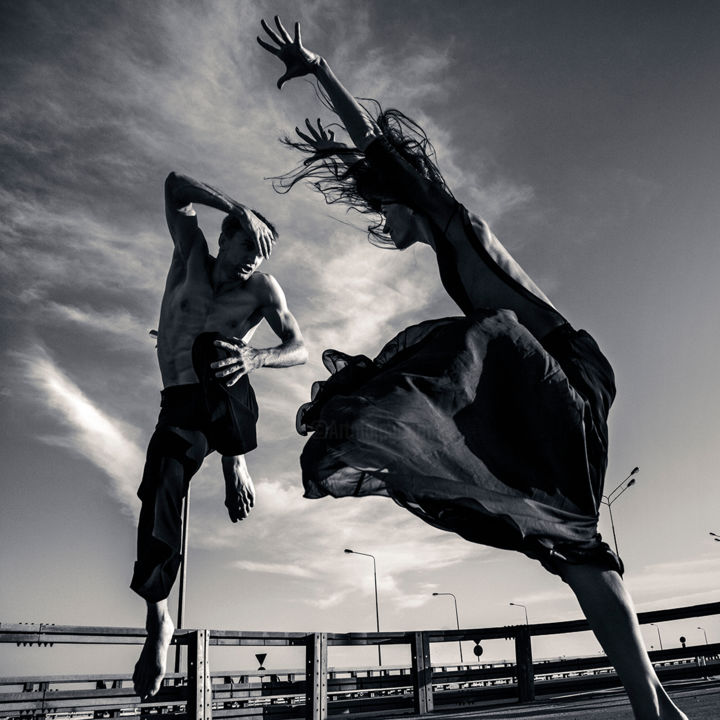 """Photography titled """"dance on the road 1"""" by Vadim Stein, Original Art,"""