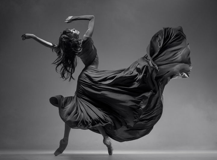 """Photography titled """"dance expression 1"""" by Vadim Stein, Original Art,"""