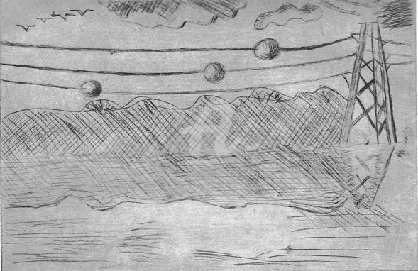 10secondesenvoiture - Drawing,  10x20 cm ©2008 by STEPH -