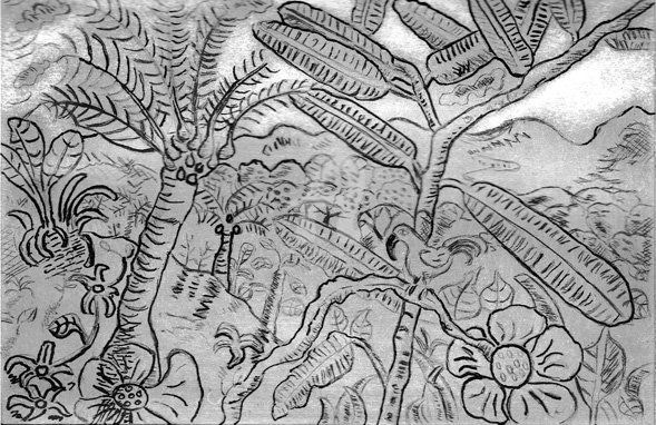 Paradise - Drawing,  29.7x21 cm ©2008 by STEPH -