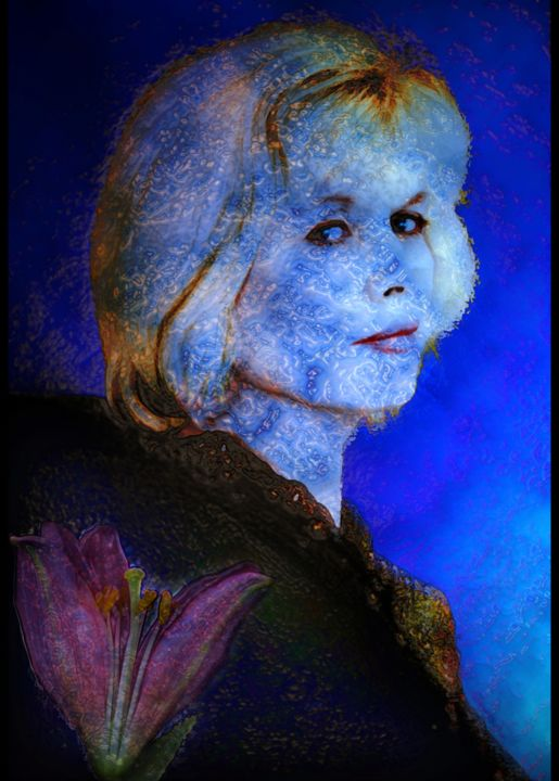 """Digital Arts titled """"Ice Queen"""" by Stephen Jackson, Original Art, Other"""