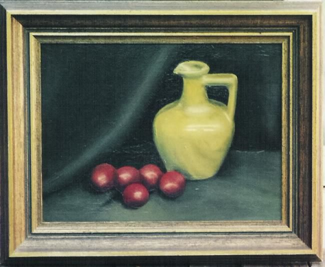 """Painting titled """"FIRST OIL PAINTING"""" by ~Su~, Original Art, Oil"""