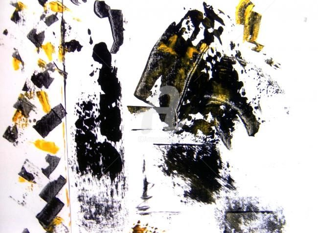 sans - Painting,  30.3x30.3 in, ©2003 by Anne-Marie Schmidt -                                                                                                                          Abstract, abstract-570