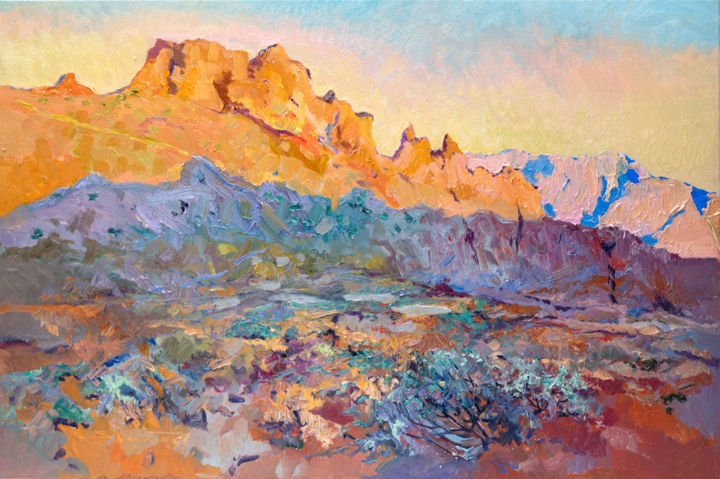 """Painting titled """"Early Evening in th…"""" by Suren Nersisyan, Original Art, Oil"""