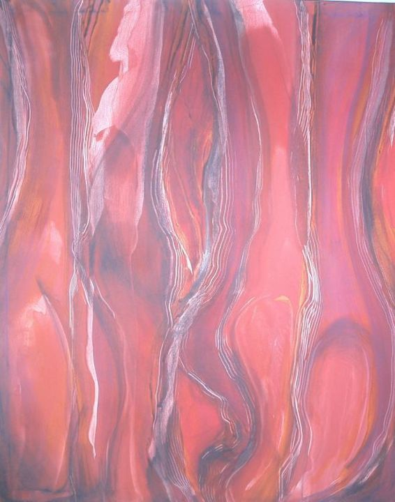 """Painting titled """"Duality"""" by Susan Olij, Original Art,"""