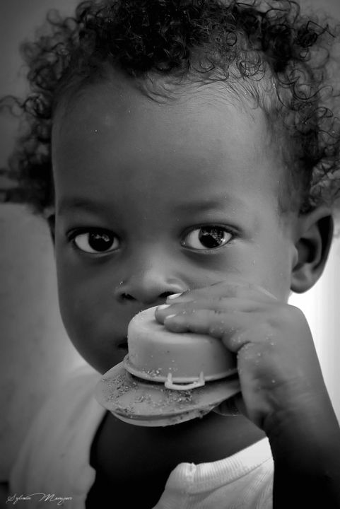 Petit garçon de Corn Island. - Photography ©2015 by Sylvain Manguer -                            Portraits, enfant, peuple, regard, corn island, tendresse, innocence, humanité