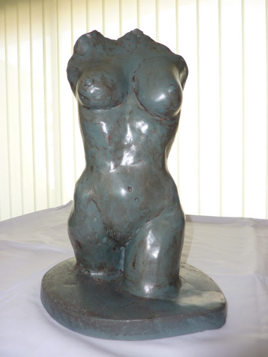 Reconstruction - Sculpture,  13.8x8.7x9.5 in, ©2011 by SB -