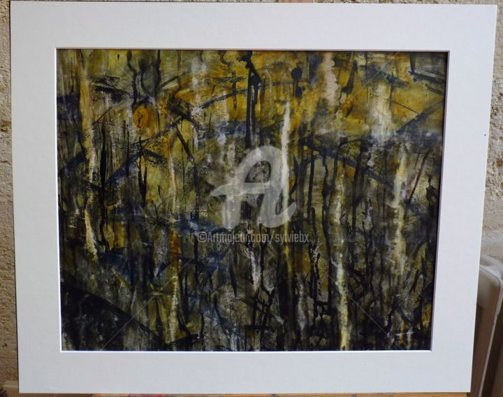 encre n°3 - Painting ©2013 by SBx -
