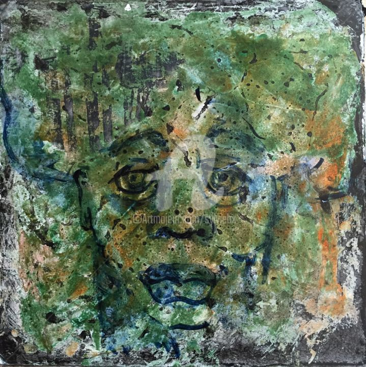 Incertitude 2 - Painting, ©2015 by Sbx -