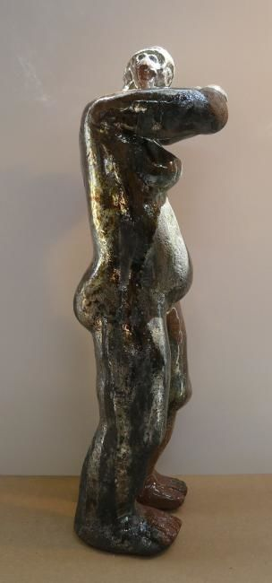 Ecoute - Sculpture,  5.1 in, ©2011 by Sylviehebrard -
