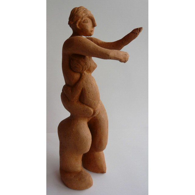 Protection - Sculpture, ©2010 by Sylviehebrard -                                                              Body