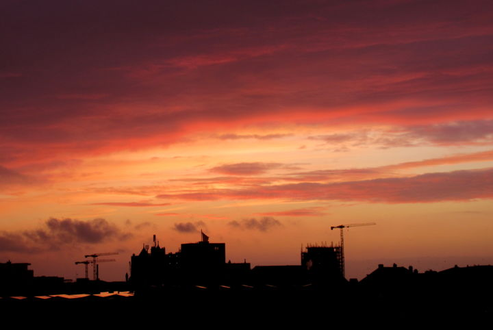 pink sky - Photography, ©2020 by Tom Schrijver -