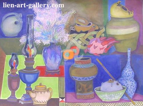 """Painting titled """"thaotp2-23"""" by Ta Phuong Thao, Original Art,"""