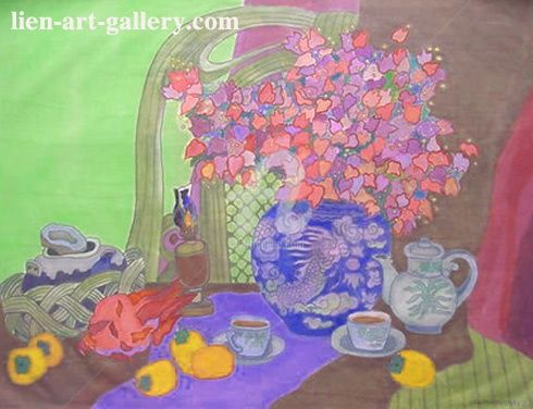 """Painting titled """"thaotp2-3"""" by Ta Phuong Thao, Original Art,"""