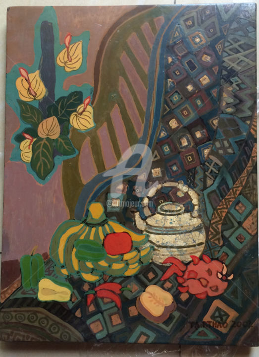 """Painting titled """"ta phuong thao 1-109"""" by Ta Phuong Thao, Original Art, Lacquer"""