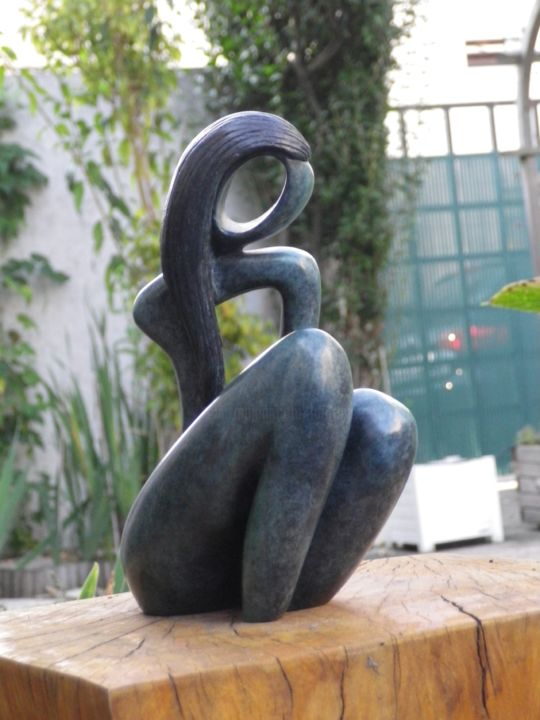 """Sculpture titled """"""""Sonia"""""""" by Georges Tag, Original Art, Casting"""