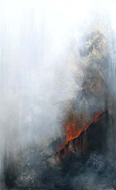 Painting,  60 x 100 cm ©2008 by Tarrats -  Painting