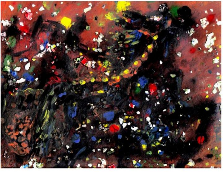 """Painting titled """"The Horse Chariot C…"""" by Ryan Mack, Original Art,"""