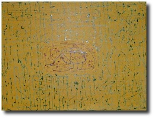 oeuvre robotique - Painting,  31.9x45.7 in, ©2008 by Simon -