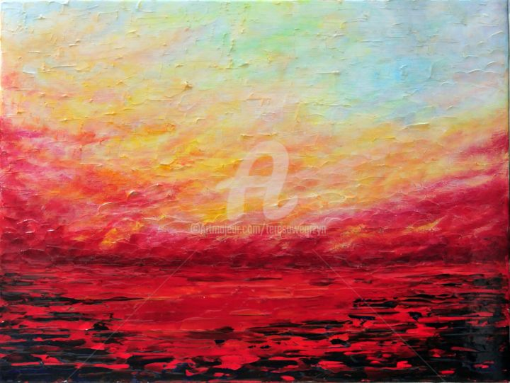 SUNSET FIERY - © 2015  Online Artworks