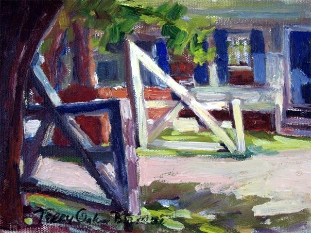 Painting, oil, figurative, artwork by Don Bourret