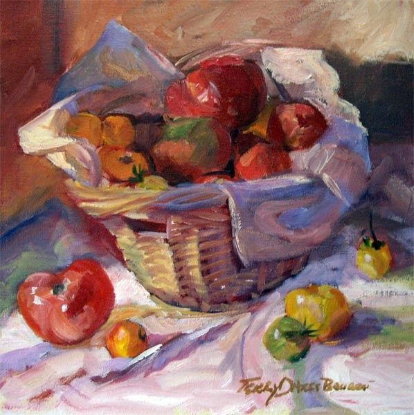 Painting, artwork by Don Bourret