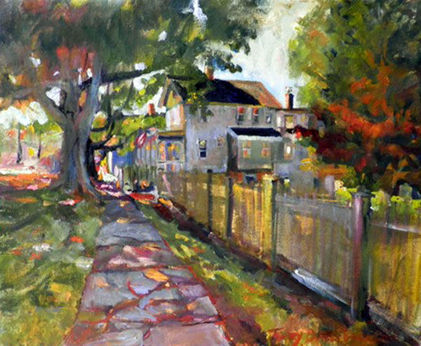 Painting, impressionism, artwork by Don Bourret