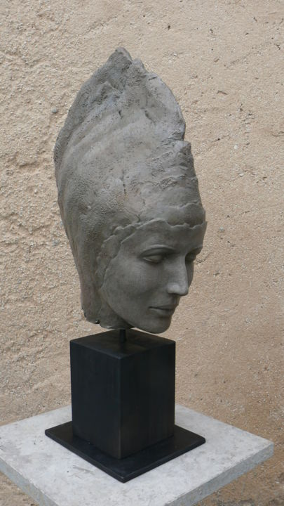 Niamh - Sculpture ©2014 by Judith Franken -