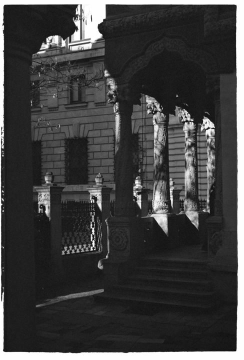 """Photography titled """"December in Buchare…"""" by Tudor Gafton, Original Art, Analog photography"""