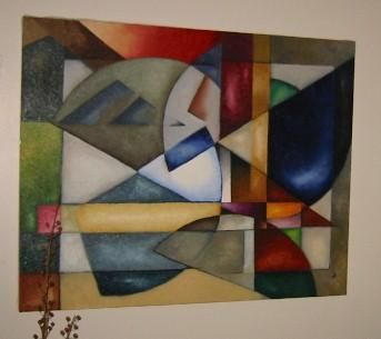 """Painting titled """"The Architect"""" by Arts Unlimited, Original Art, Oil"""
