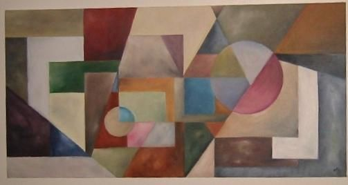 """Painting titled """"Quest"""" by Arts Unlimited, Original Art,"""