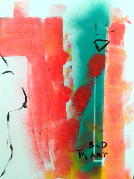 """Painting titled """"thebad2"""" by The Bad Art, Original Art, Other"""