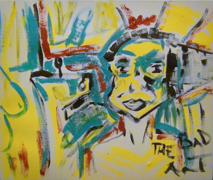 """Painting titled """"thebad7"""" by The Bad Art, Original Art, Acrylic"""