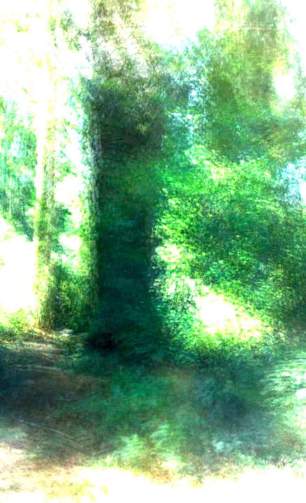 """Photography titled """"Meadow tree"""" by Theodore Fedoruk, Original Art, Digital Photography"""
